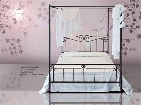 letto a baldacchino letto in ferro battuto a baldacchino casanova