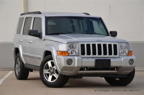 2006 Jeep Commander 2wd Find Used 2006 Jeep Commander 2wd 3rd Row S Roof Parking