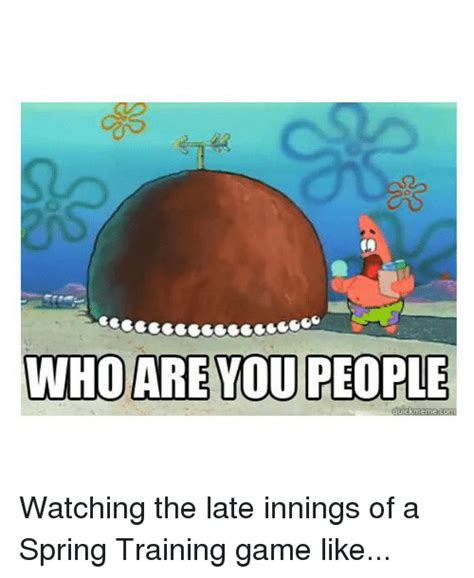 Who Are You People Meme - patrick who are you people www pixshark com images
