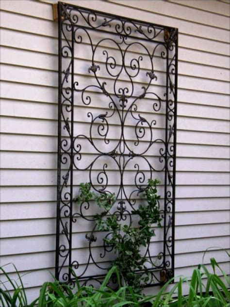 metal garden wall outdoor interesting outdoors wall ideas decozilla