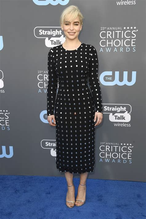 Critics Choice Awards 2018 Nominados Emilia Clarke 2018 Critics Choice Awards