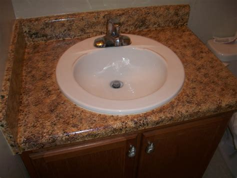 faux granite countertop bathroom diy pinterest