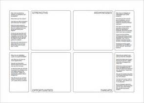 swot template pdf swot analysis template 47 free word excel pdf ppt