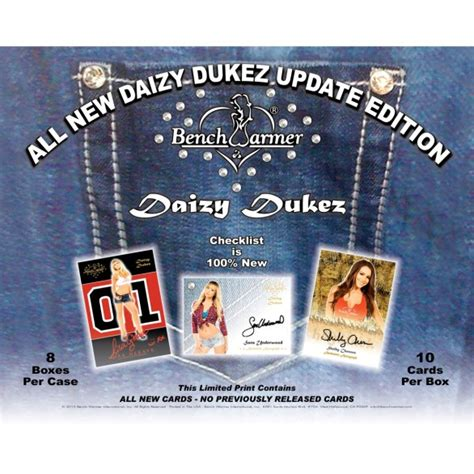 bench warmer trading cards 2016 bench warmer daizy dukez update bench warmer