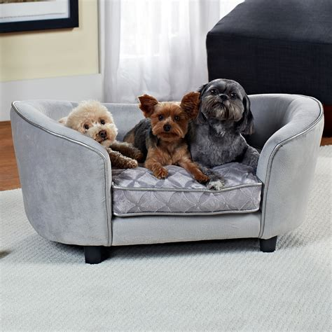 pet sofa enchanted home pet quicksilver pet sofa dog beds at