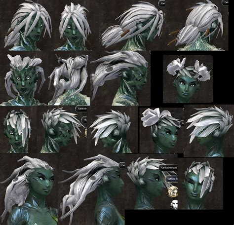 gw2 new sylvari hairstyles all gw2 hairstyles gw2 new hairstyles july 26 update