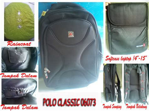 Ransel Chanel 5182 distributor tas rangsel tas ransel laptop polo classic 06073