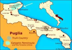 map of foggia italy province of foggia