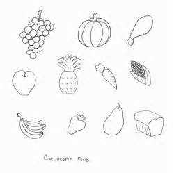 cornucopia coloring pages to print for a food coloring pages