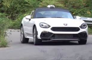Fiat Gt Listen To The 300hp Engine In The Fiat Abarth 124 R Gt