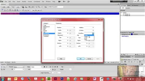 html layout div side by side stacking div container side by side dreamweaver cs6 css