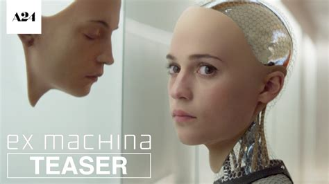 ex machina cast ex machina official teaser trailer hd a24 youtube