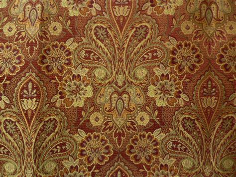 Fabrics And Upholstery by Drapery Upholstery Fabric Traditional Woven Floral Paisley