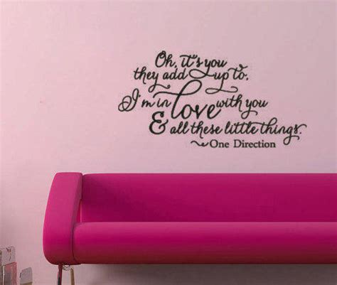 one direction wall sticker one direction things vinyl wall from remarkablewalls on
