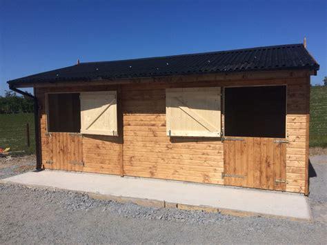wooden garage installations  bangor  northern ireland