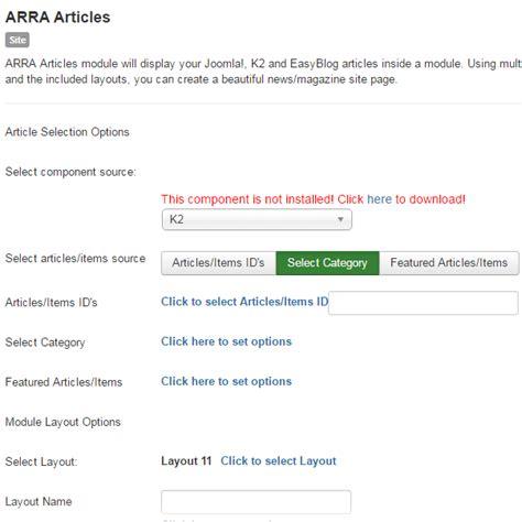 joomla quick tutorial arra articles module quick tutorial custom joomla
