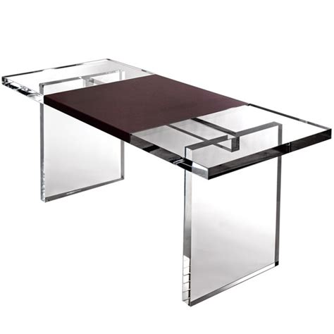 Clear Plastic Desk by Maximize Your Space With Acrylic Furniture