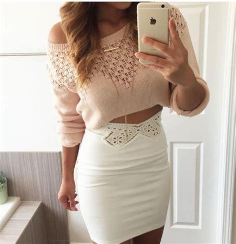 top skirt sweater cropped sweater crop tops crochet