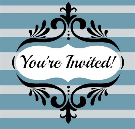 Host A Children S Ministry Volunteer Open House Letter Template You Re Invited Template