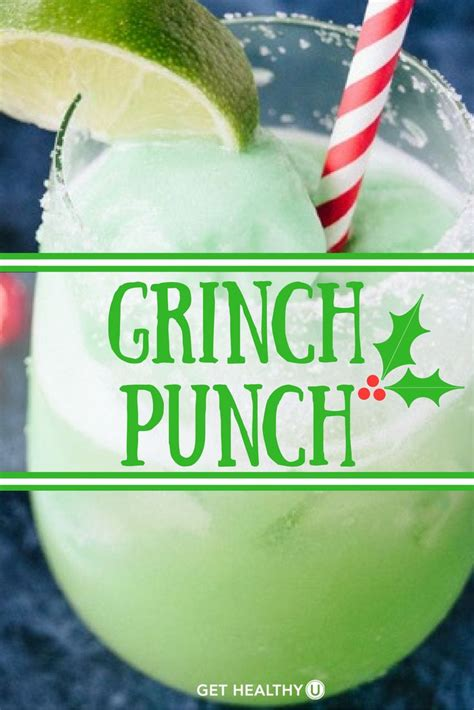 christmas cocktails recipes grinch punch recipe grinch punch holiday cocktails
