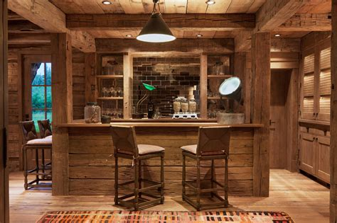 home bar 15 distinguished rustic home bar designs for when you