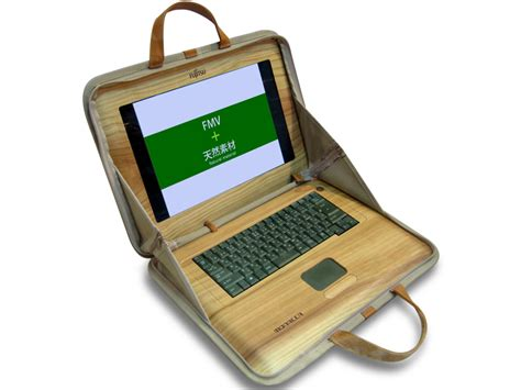wooden laptops anyone