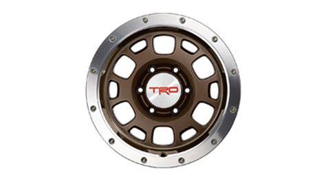 Toyota Beadlock Rims Trd 16 In Road Beadlock Style Wheels Bronze