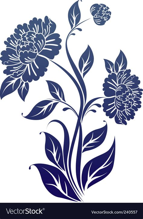 stock images royalty free images vectors peony flower royalty free vector image vectorstock