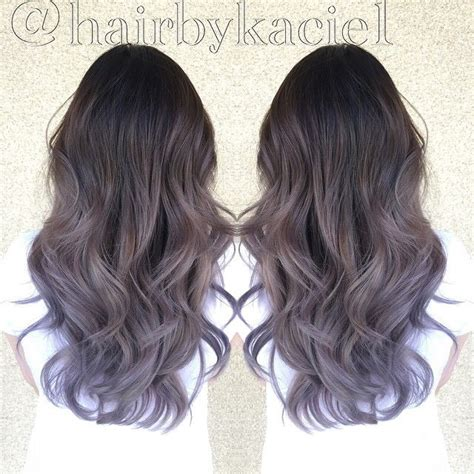 lorenzo brown hair color brown to lilac ombre hair www pixshark com images