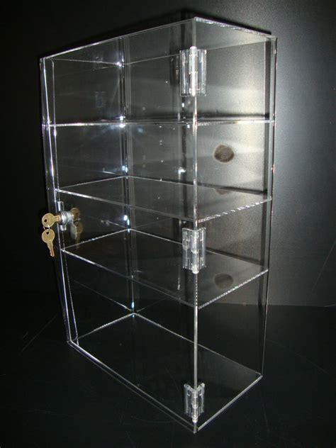 Acrylic Countertop Displays by Acrylic Countertop Display 12 Quot X 6 Quot X 19 Quot Locking