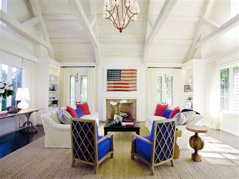 red white and blue home decor red white and blue interior design