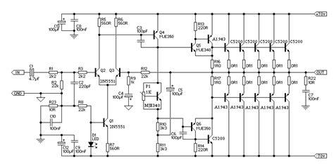 mengukur transistor darlington jm electro skema audio lifier