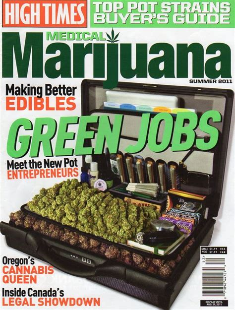 High Times Magazine Thc Detox by 19 Best Magazines Images On Magazine Covers