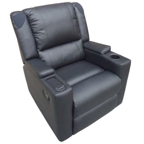 Ultimate Recliner Chair X Rocker Multimedia Leather Recliner Zavvi