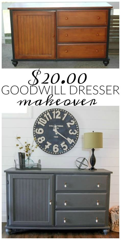 goodwill furniture makeovers 25 best ideas about refurbished dressers on pinterest