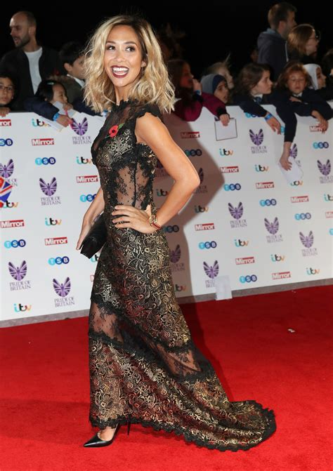 Carpet Myleene Klass At Mayfair Personality Of The Year Event by Myleene Klass Photos Photos Pride Of Britain Awards
