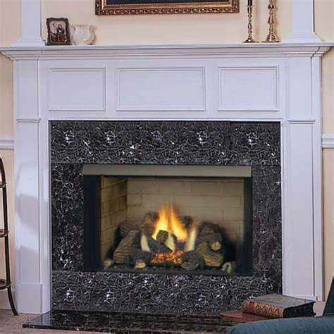 Monessen Fireplace Review by 32 Gcuf Louvered Circulating Vent Free Firebox Refractory