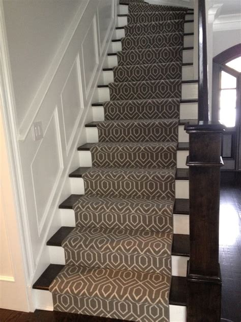 Stairway To Darkness Rug by Black Staircase Railing Entrance Foyer