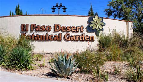 Botanical Garden El Paso El Paso Desert Botanical Entrance Wall Keystone Heritage Park