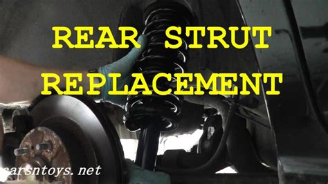 how to replace rear shocks buyautoparts com youtube how to replace rear struts shocks on your vehicle youtube