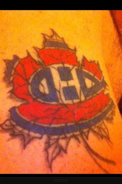 tattoo quebec forum habs tattoo tattoos pinterest tattoos and body art