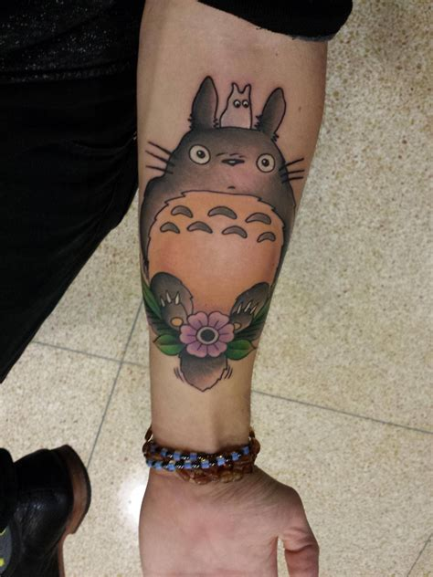 solid state tattoo cool treated myself to a of totoro one of my
