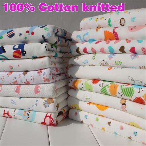 baby jersey knit fabric 100 cotton knit fabric soft stretchy jersey knit cotton