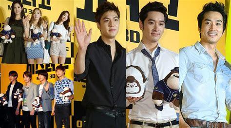 judul film lee min ho dan yoona snsd snsd dan lee min ho peluk boneka gorila di premiere mr go