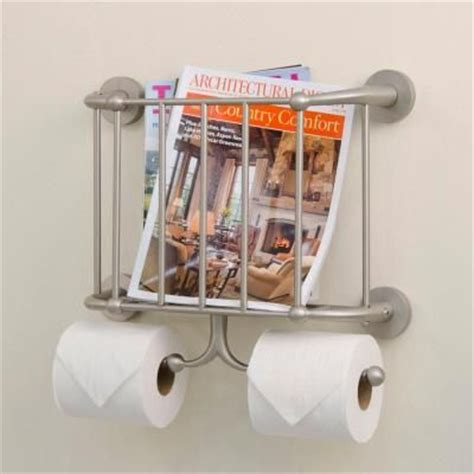 magazine holder for bathroom bathroom magazine rack brushed nickel woodworking