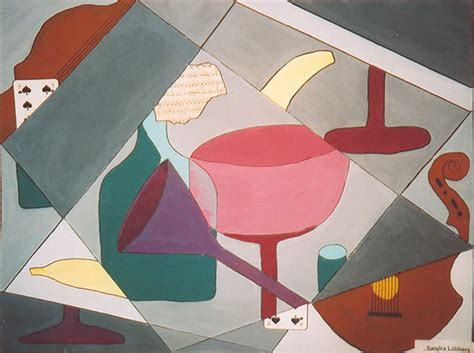 Synthetischer Kubismus Bilder 4124 by Tgg Leer Kubismus Malerei