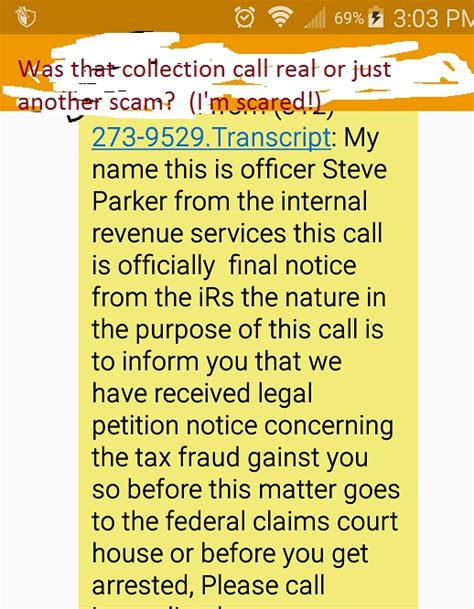 irs collections phone number was that collection call real or just a scam i m scared robertspaynelaw my utah