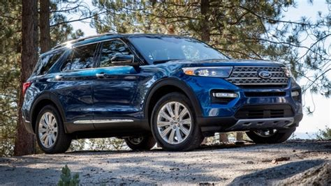 Ford Unveils The New 2020 Explorer by Ford Unveils All New 2020 Explorer Suv In Detroit