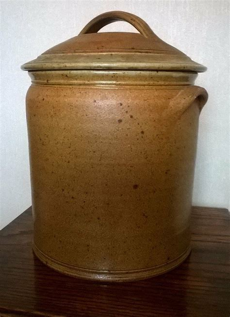ceramic bread binpot large  blythe bridge