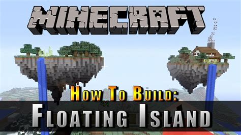 Farm House Minecraft by Minecraft How To Build A Floating Island Youtube